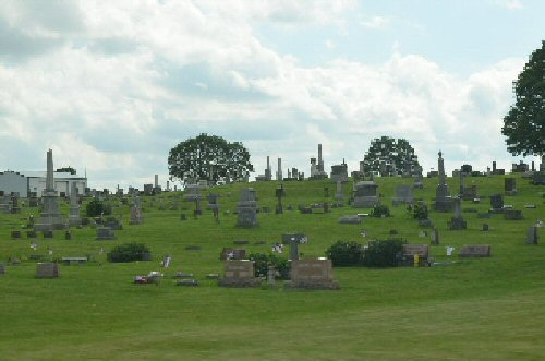 Greenwood Cemetery of De Graff