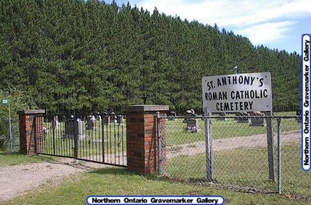 St. Anthony's Roman Catholic Cemetery