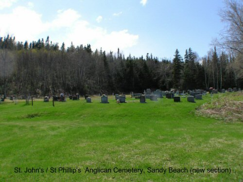 St-John's and St-Phillip's Church Cemetery (Sandy Beach)